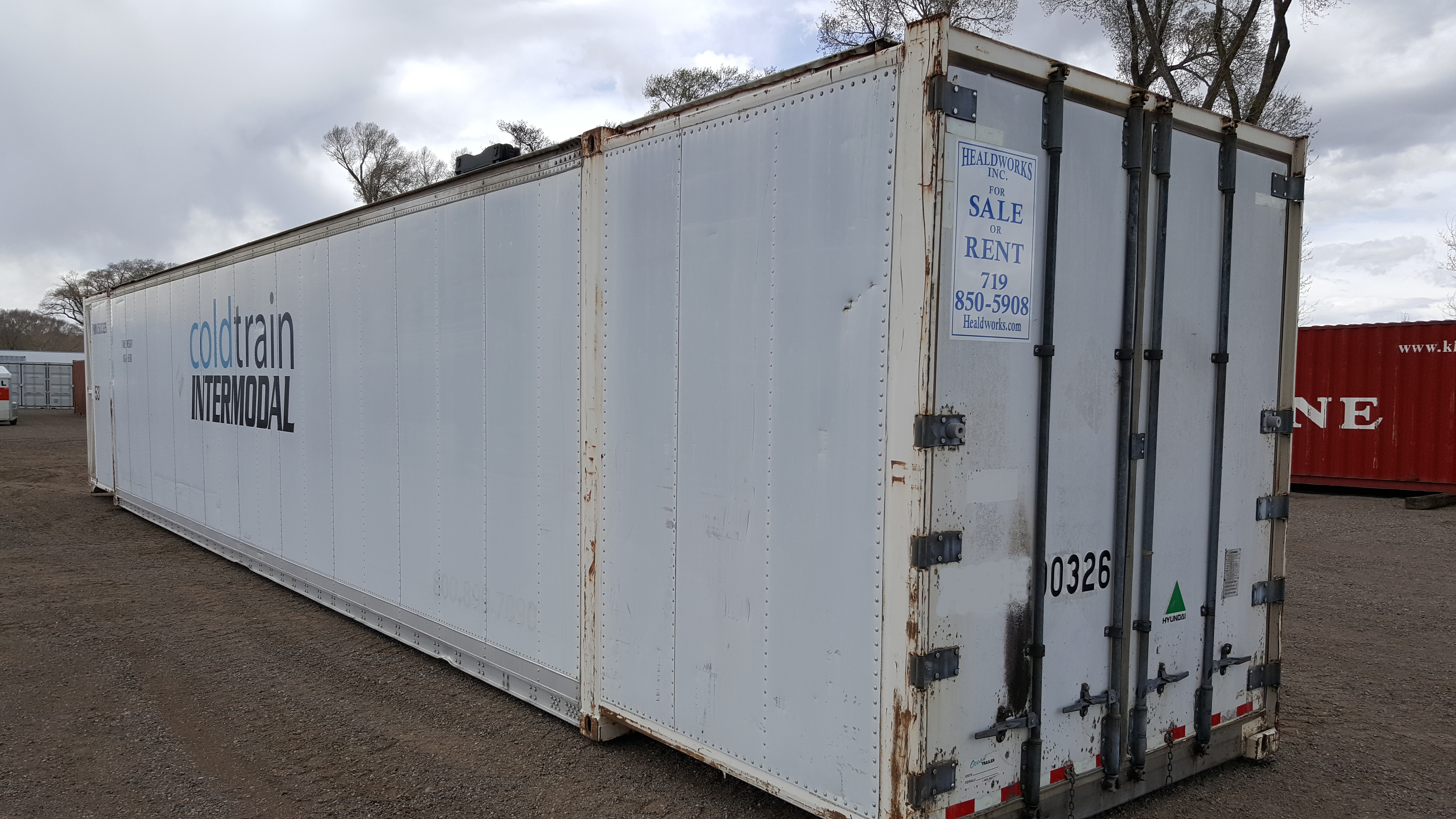 Refrigerated Containers Storage | Healdworks Inc | 20ft